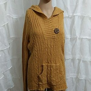 MAURICES Hooded Sweater LG